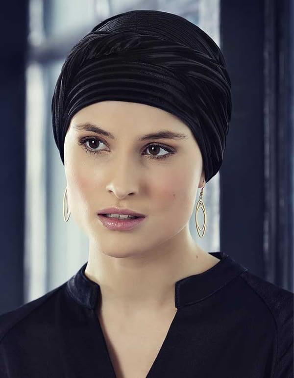 EMMY Viva Turban Velvet negro
